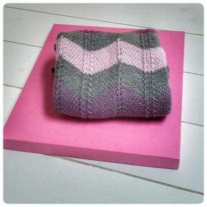 copertina di lana (si può fare anche in cotone) per bimbo o bimba
