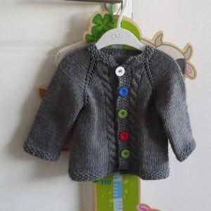 maglioncino neonato 12 18 mesi modello su richiesta