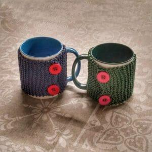 tazza calda con il copritazza per the e caffè, idea regalo, gitf idea