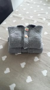I love knitting baby cardigan, this is 12-18 month