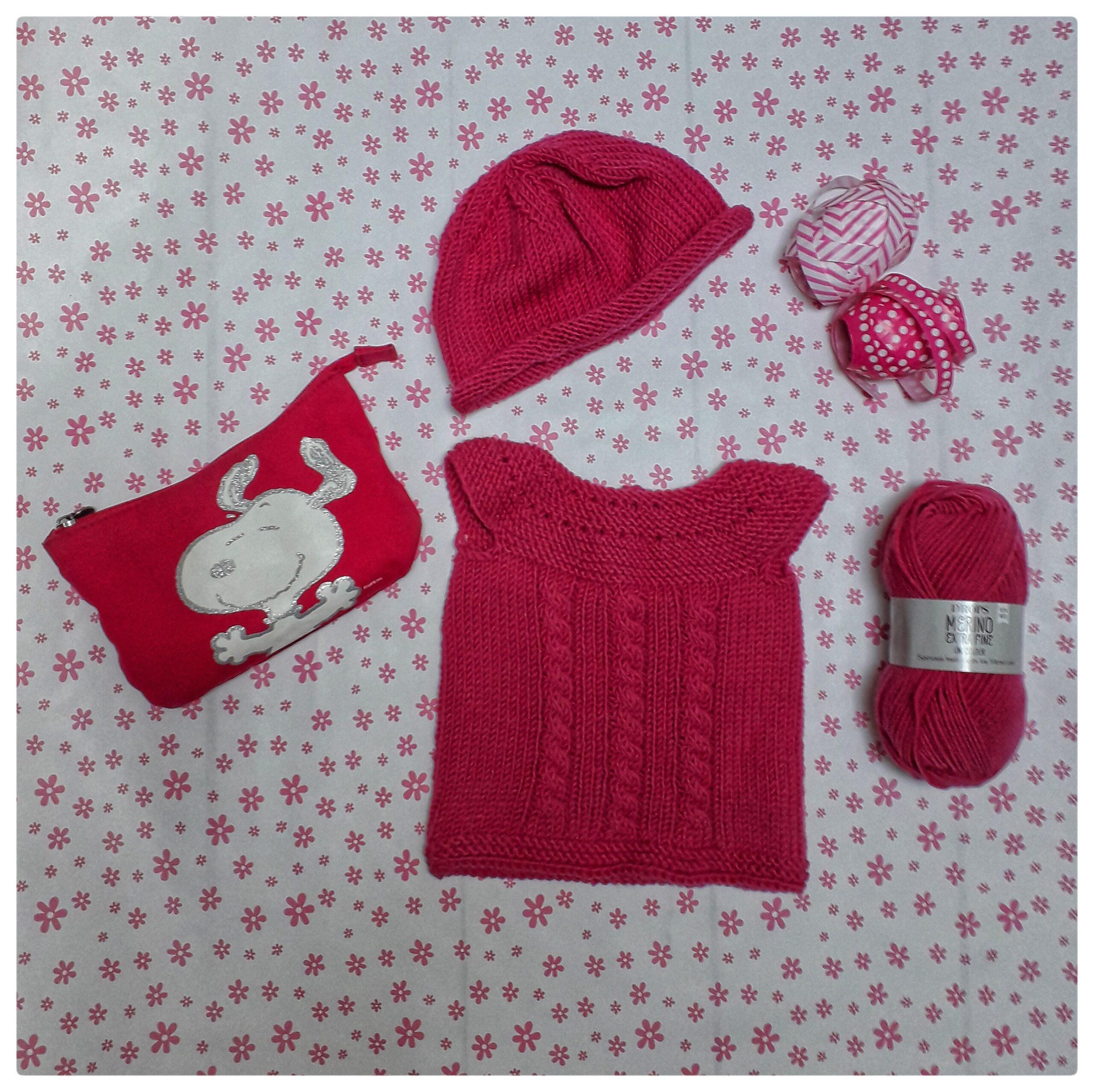 vest 0-12 month knitting pattern